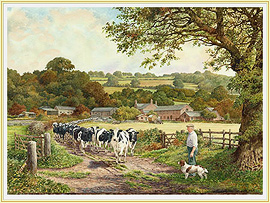 Farming Life - a classic Farming Picture - click for details
