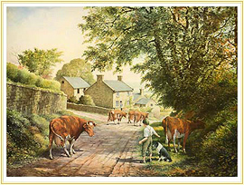 Friendly Persuasion - a classic Farming Picture - click for details