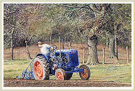 Heavy Going - a classic Farming Picture - click for details