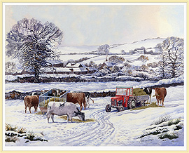 Wintering Out - a favourite winter Farming Picture - click for details